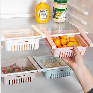 Refrigerator pull-out storage box