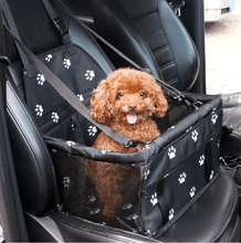 Load image into Gallery viewer, SAFETY PET CAR SEAT - KEEPS YOUR FUR KIDS SAFE!