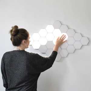 'Hex' Modular Lighting - Touch-Sensitive LED Magnetic Modular Lights