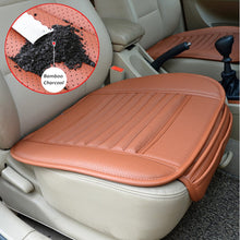 Load image into Gallery viewer, Four Seasons Universal Dani Leather Charcoal Car Seat Cushion (Absorbing odor)