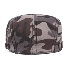 Load image into Gallery viewer, Outdoors Men's cap camo Berets Cotton Newsboy Cap (Buy 3 FREE shipping)