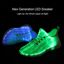 Load image into Gallery viewer, Luminous Fiber Optic LED Sneakers (for kids and adult)