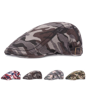 Outdoors Men's cap camo Berets Cotton Newsboy Cap (Buy 3 FREE shipping)
