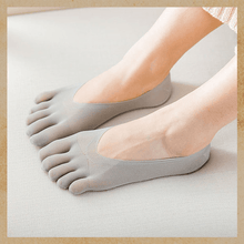 Load image into Gallery viewer, Five Toes Breathable Socks summertwinkle grey 1pair