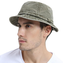 Load image into Gallery viewer, Cotton UV Protection Bucket Hat