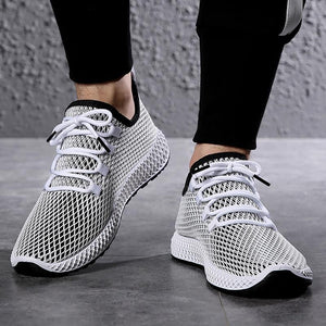 Mens Fly Weave Sneakers