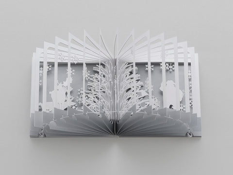 360°Book: Snowy World