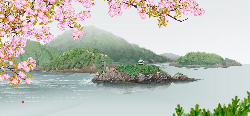 View of Tomonoura Painted in Excel [Limited Edition]