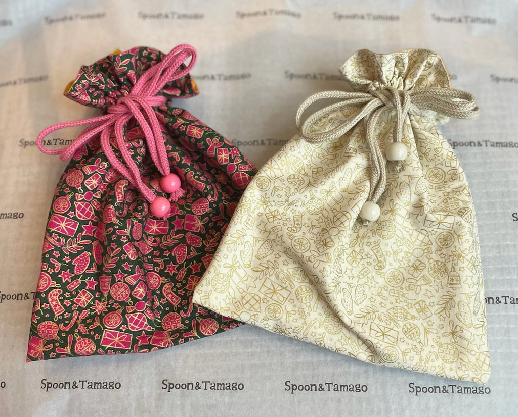 Liberty Quilting : drawstring gift bags
