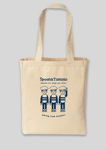Spoon & Tamago Tote Bag - Waving From Brooklyn