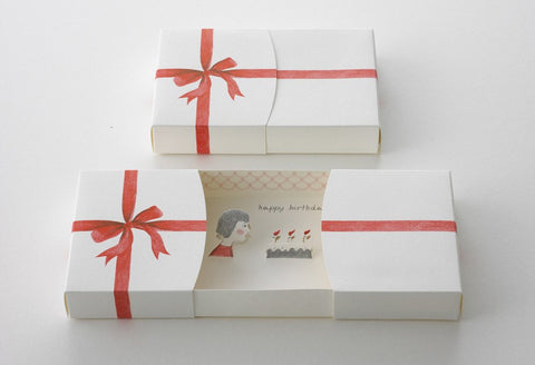 Message Box Birthday Card