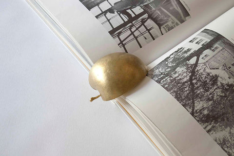 Brass Apple Paperweight