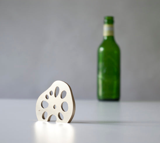 Brass Lotus Root Bottle Opener