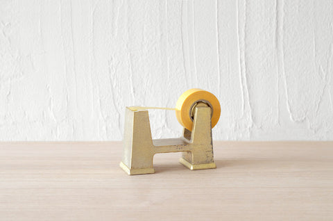Brass Tape Dispenser (small)