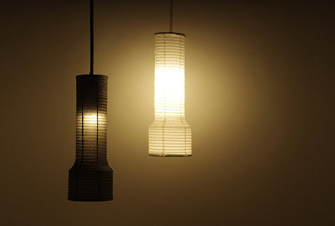 Washi Torch Pendant Lamp