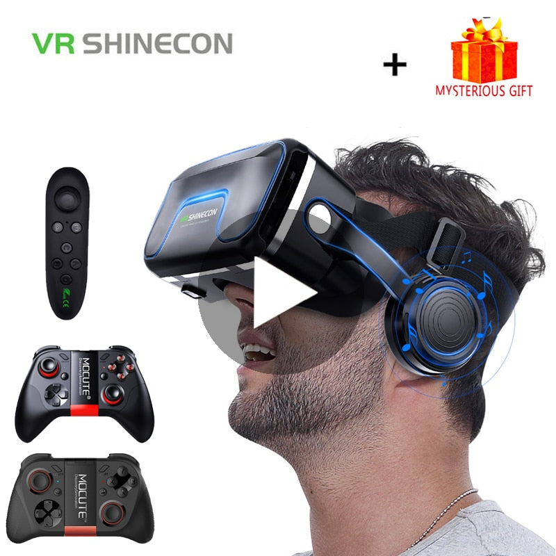 3D Glasses Virtual Reality Smartphone Goggles
