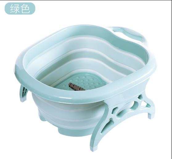 Foot Tub Foldable Spa Pedicure Buckets Hot Water Tub Massage Bath Soak Feet Container Thick Sturdy Plastic Basin