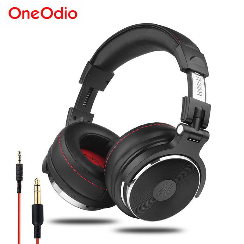 Professional Studio DJ Headphones With Mic