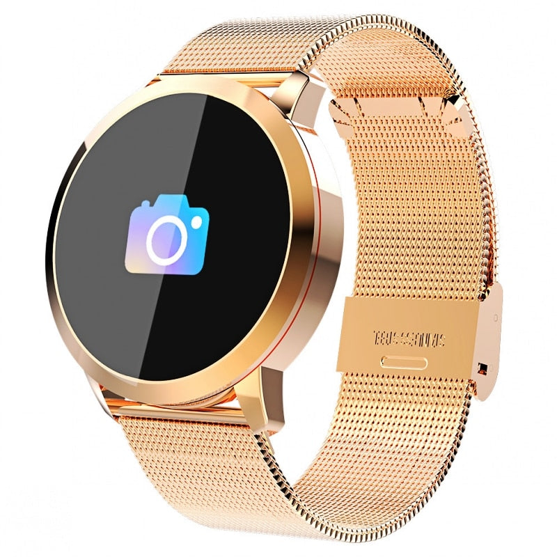 Waterproof OLED Bluetooth Stainless Smart Watch