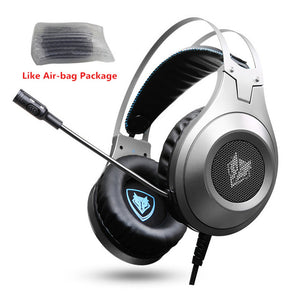 Bass Gaming Headphones with Mic
