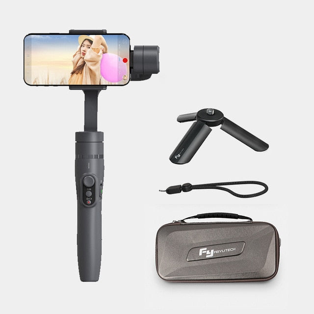 Feiyu vimble 2 Smartphone 3-Axis Handheld  Gimbal Stabilizer bluetooth wireless selfie stick for iPhone X Gopro sjcam Smooth Q