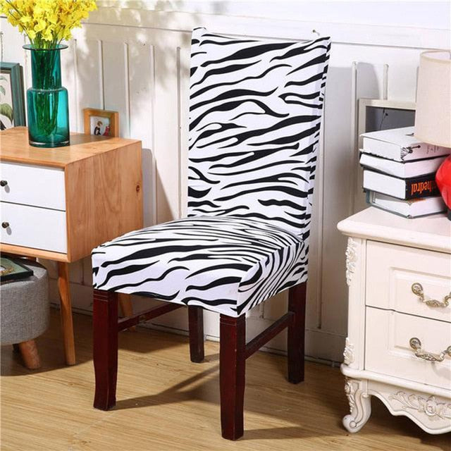 Naturelife Silky Elastic Seat Case Antifouling Home Chair Covers Removable Modern Pattern American Seat Protector Dropshipping