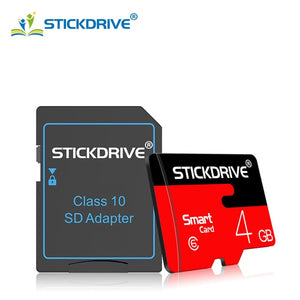 Wholesale Micro SD Memory Card Real Capacity 4GB 8GB 16GB 32GB Red Microsd TF Memory card Flash Drive Memory Stick