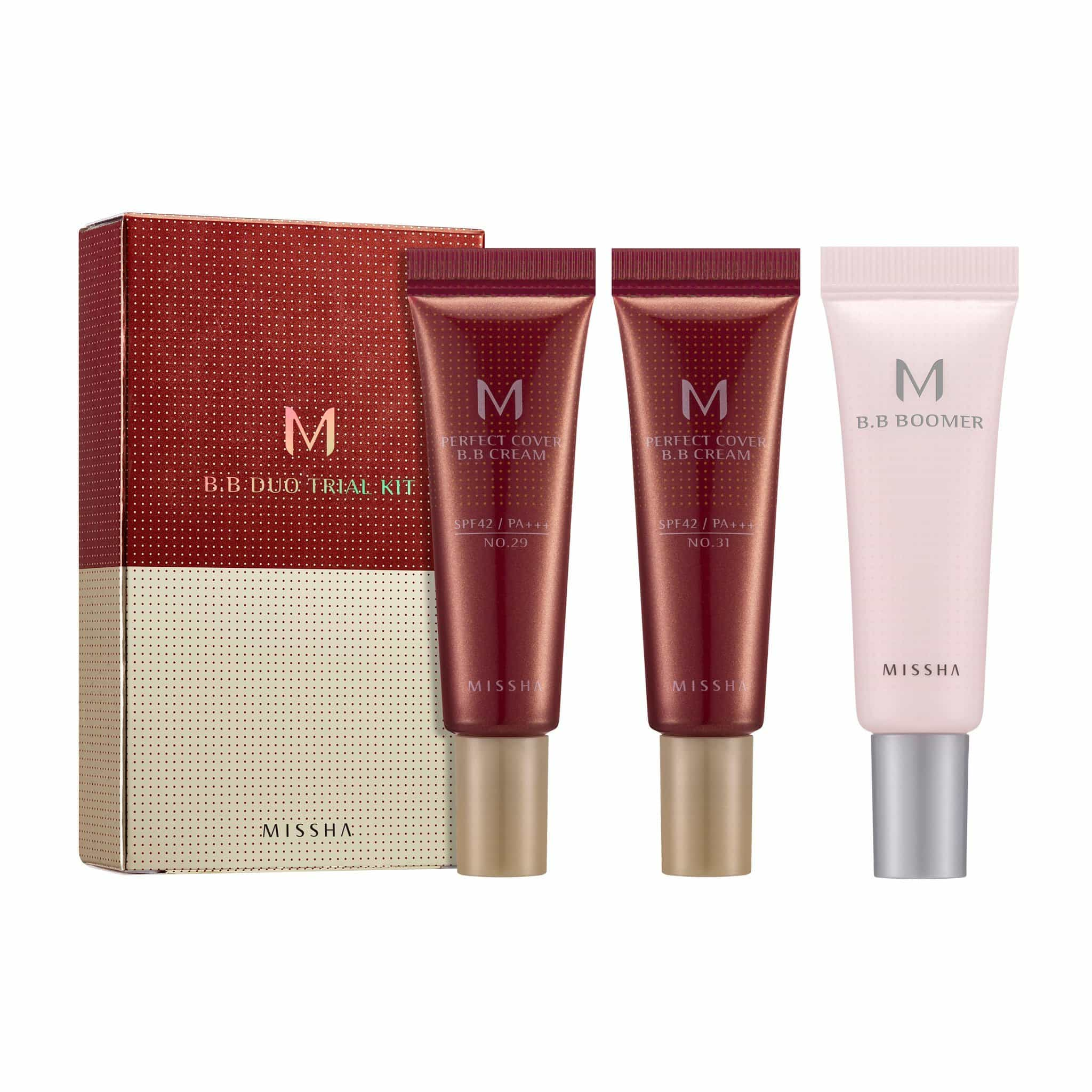 PERFECT COVER BB CREAM TRIAL KIT - MISSHA