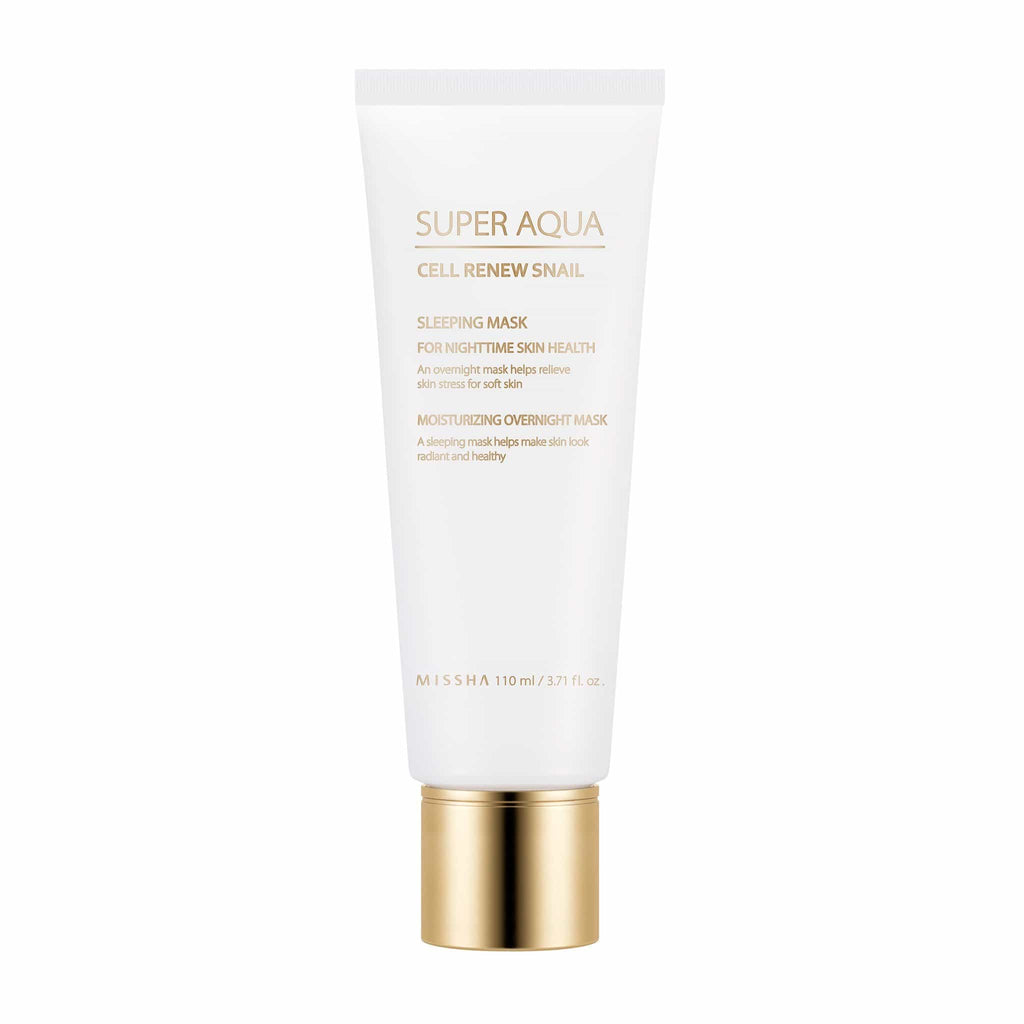 SUPER AQUA CELL RENEW SNAIL SLEEPING MASK - MISSHA