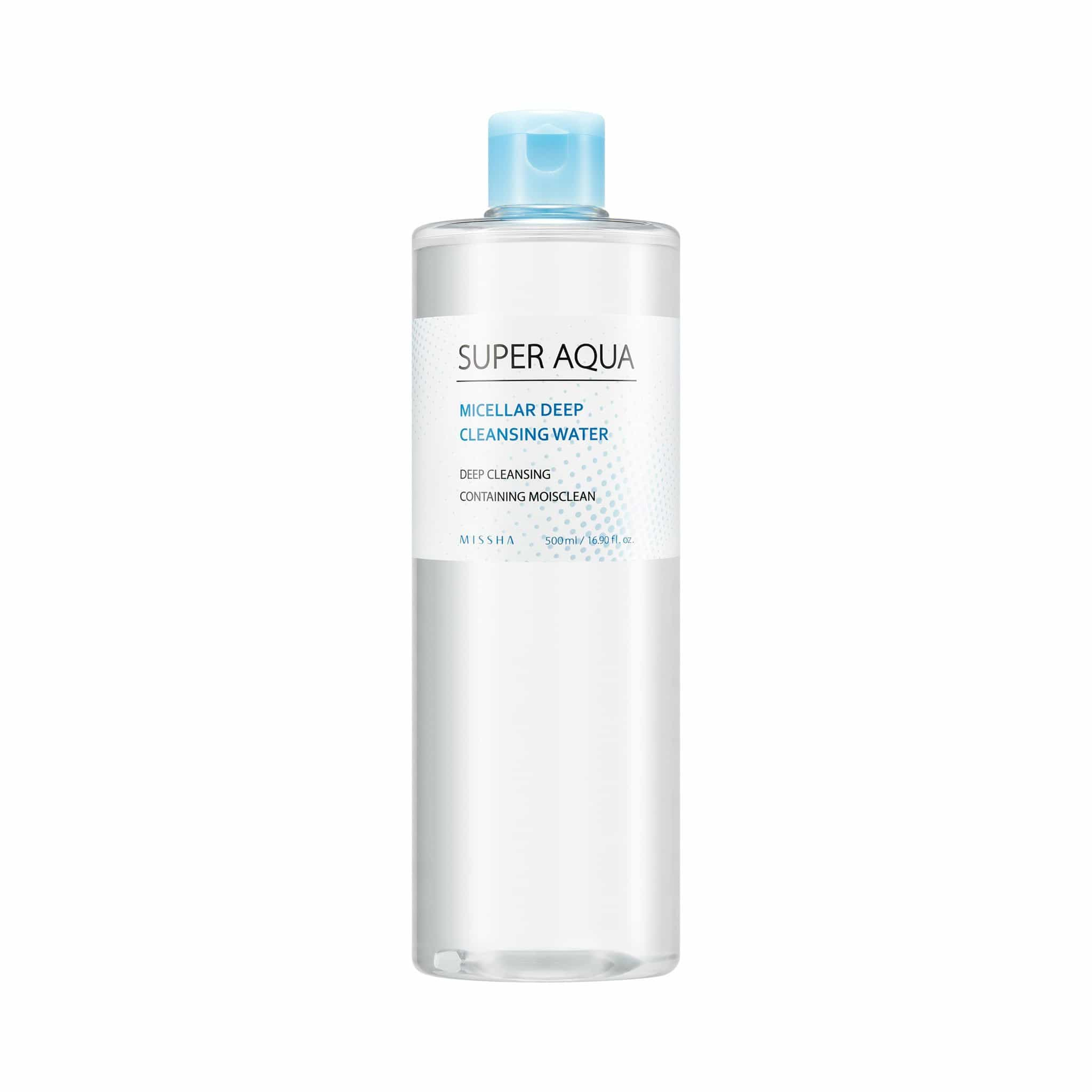 SUPER AQUA MICELLAR DEEP CLEANSING WATER - MISSHA