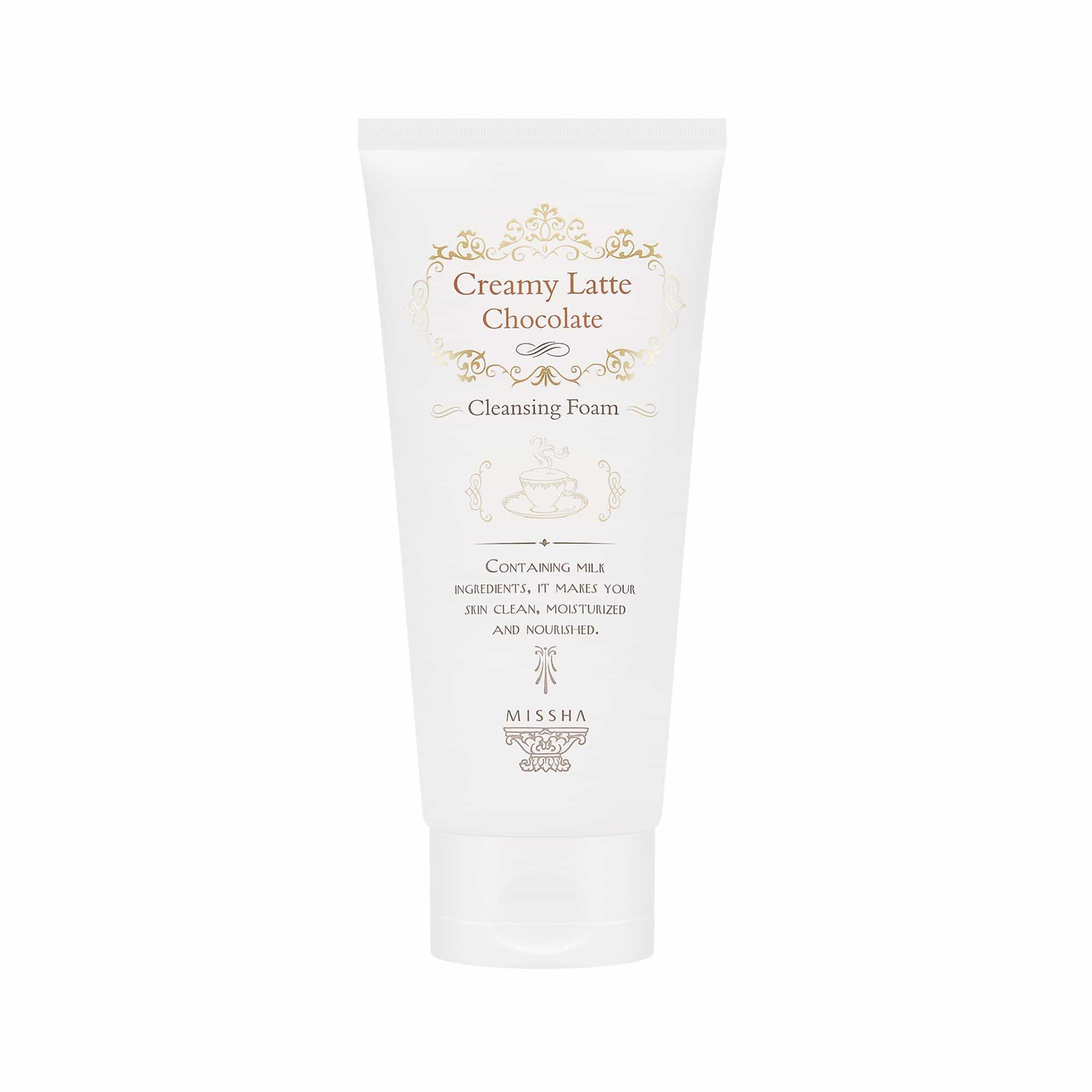 CREAMY LATTE CLEANSING FOAM - MISSHA