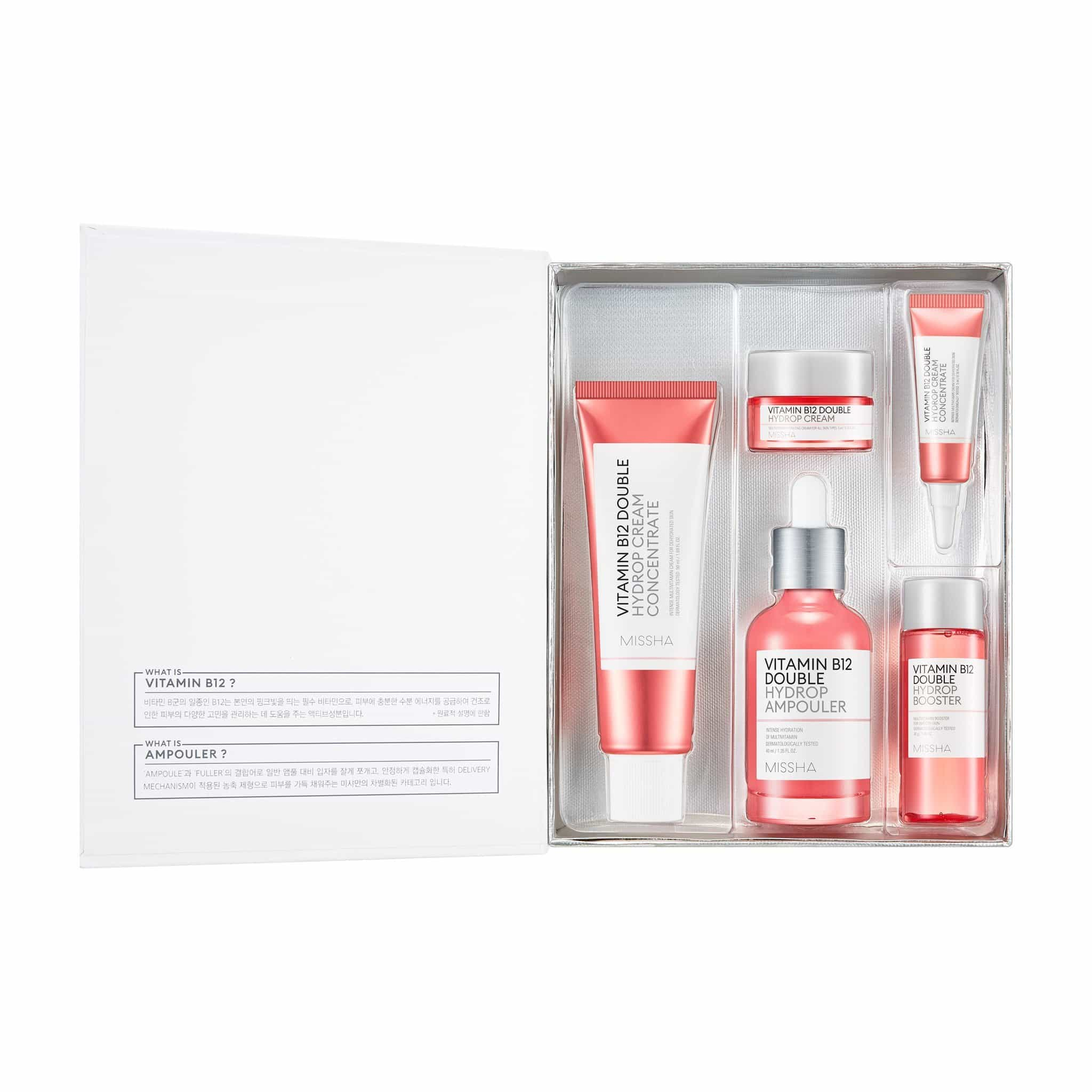 VITAMIN B12 DOUBLE HYDROP SET 2 - MISSHA