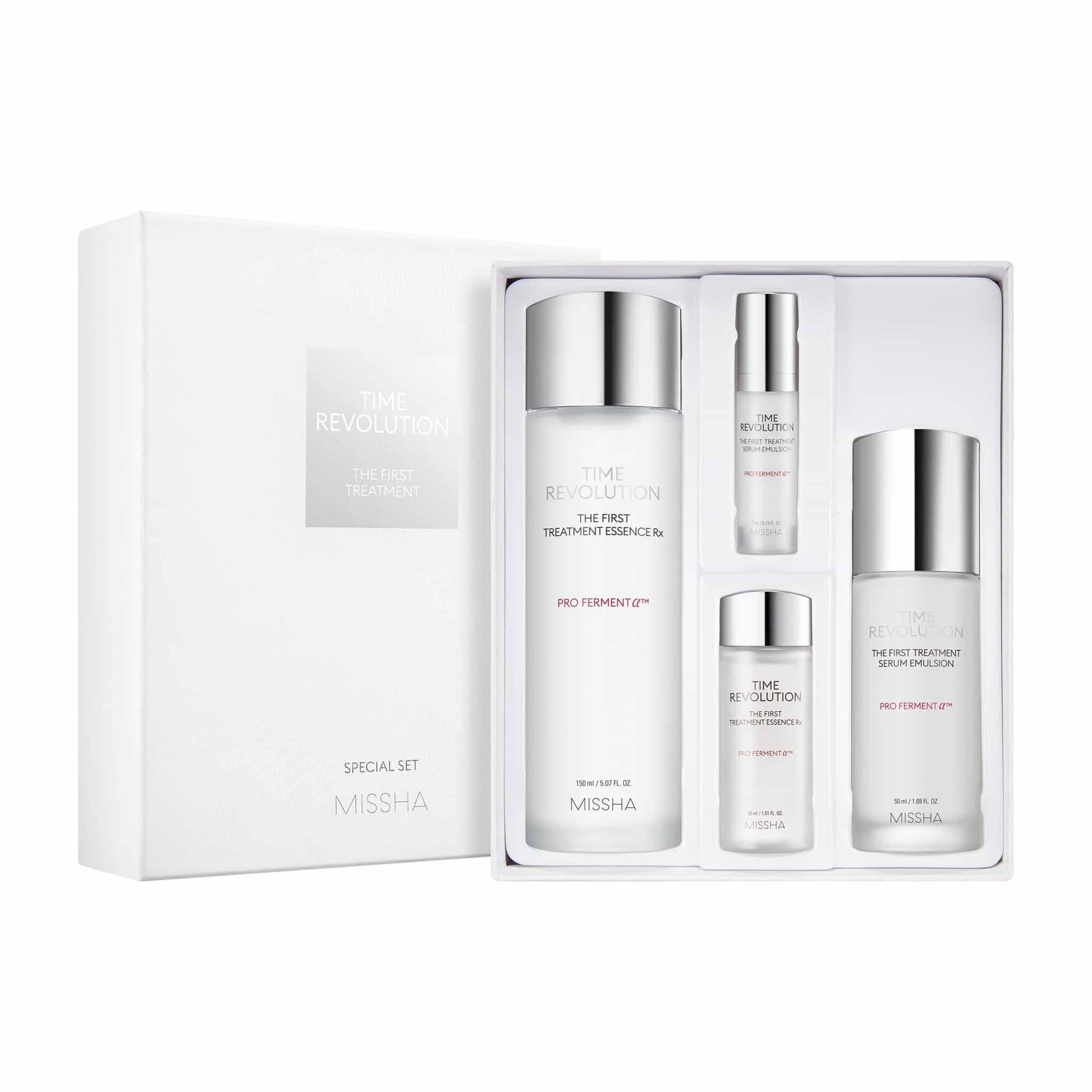 TIME REVOLUTION THE FIRST TREATMENT SPECIAL SET - MISSHA