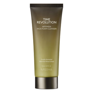 TIME REVOLUTION ARTEMISIA PACK FOAM CLEANSER - MISSHA