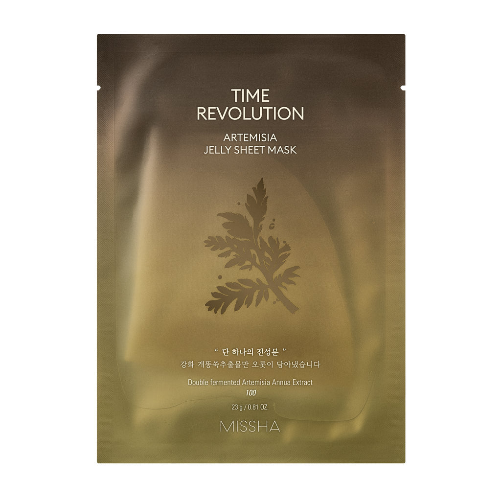TIME REVOLUTION ARTEMISIA JELLY SHEET MASK - MISSHA