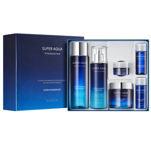 SUPER AQUA ULTRA HYALRON SET II - MISSHA