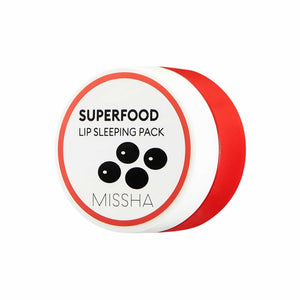 SUPER FOOD BLACK BEAN LIP SLEEPING PACK - MISSHA