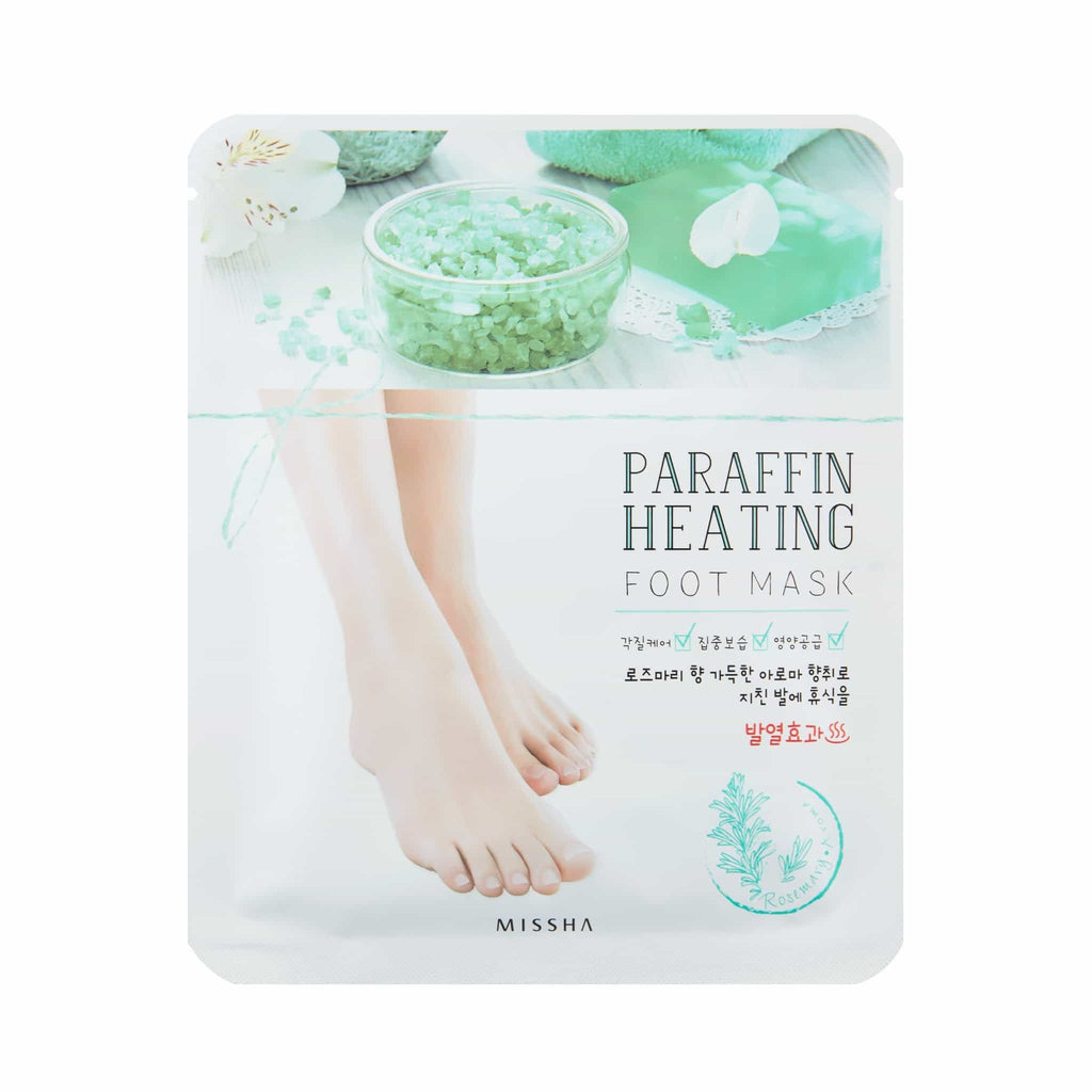 PARAFFIN HEATING FOOT MASK - MISSHA