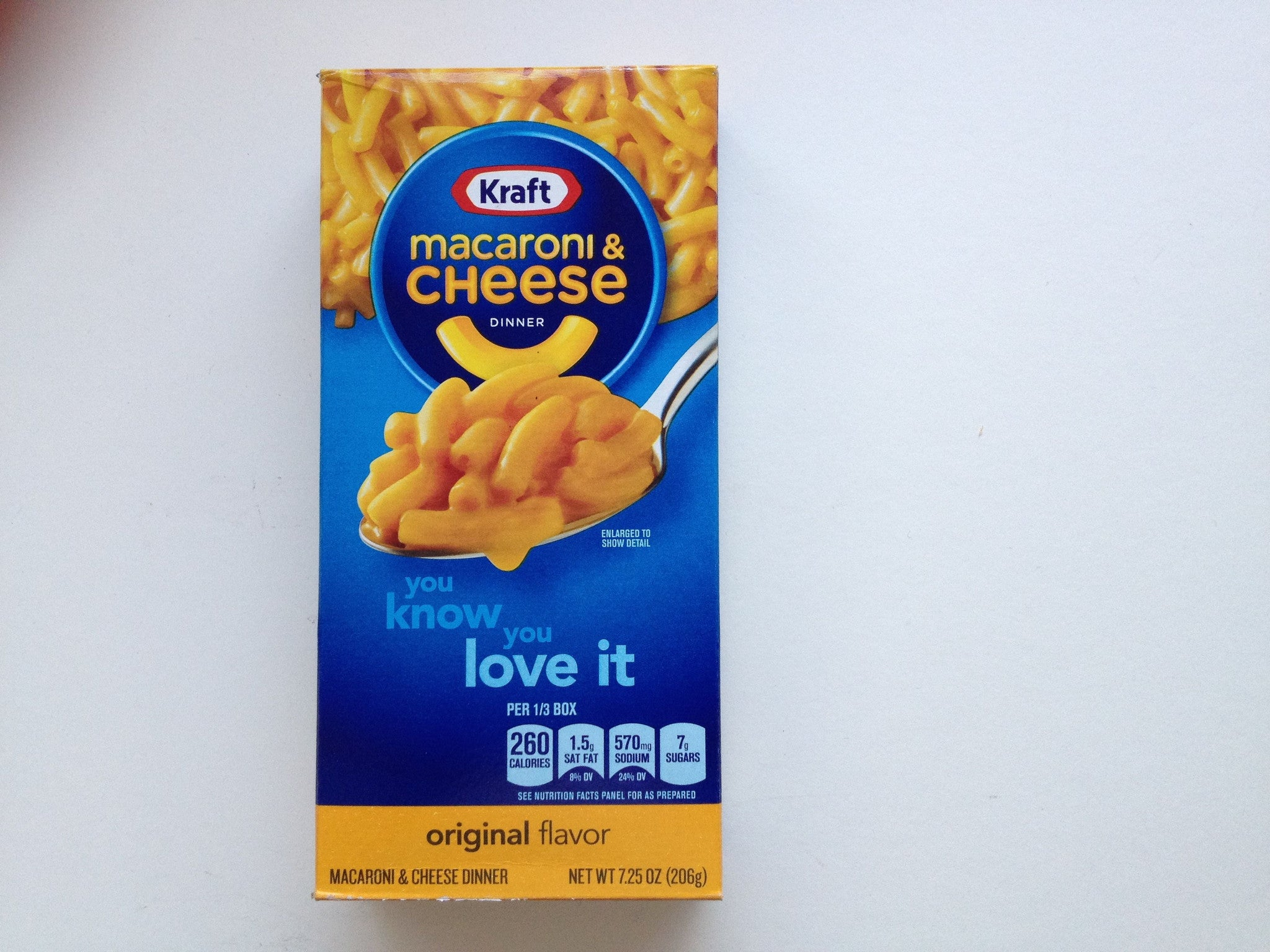 Kraft Macaroni and Cheese 206g
