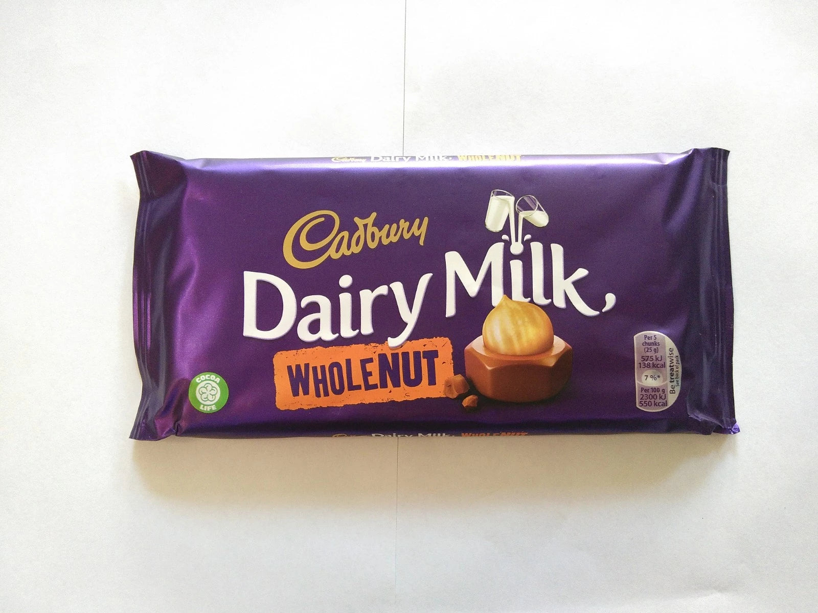 Cadbury Whole Nut 200g