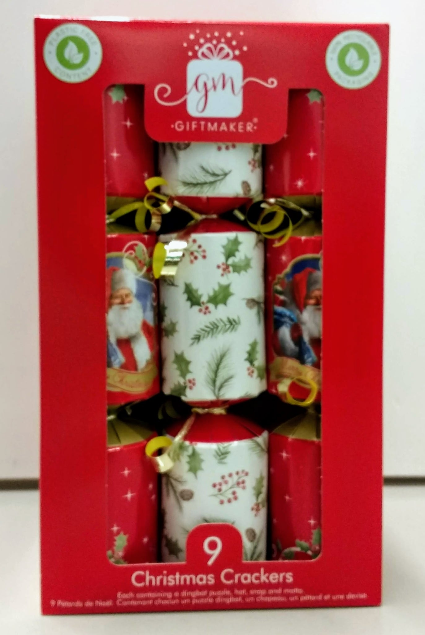 Giftmaker Traditional Mini Crackers 9pk