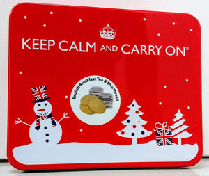 Keep Calm & Carry On Variant 1 Festive 225g