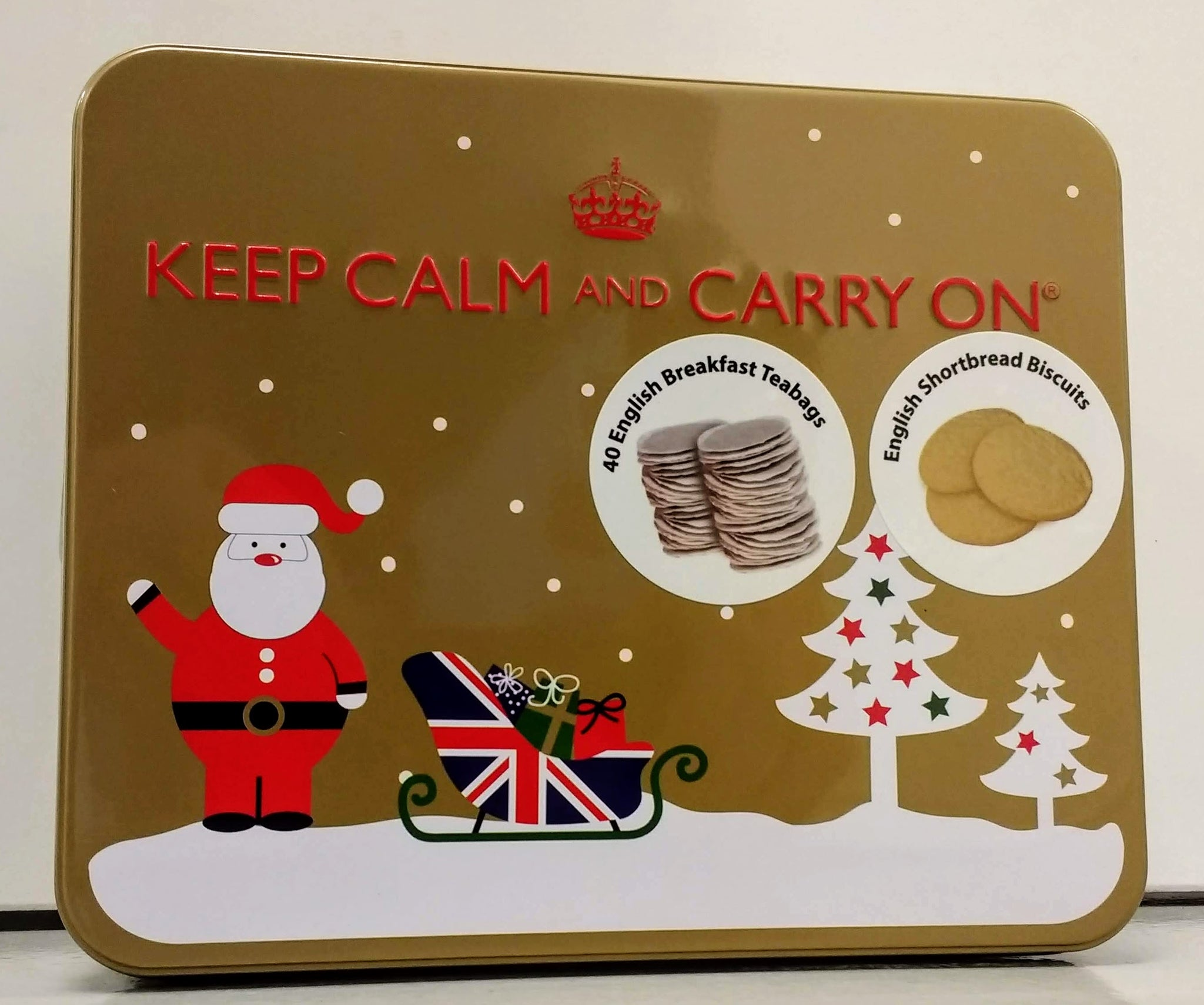Keep Calm & Carry On Variant 2 Festive 225g