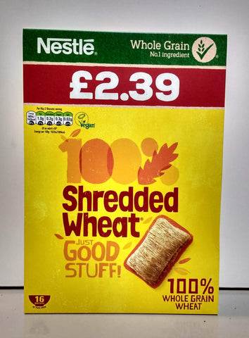 Nestle Shredded Wheat 16 biscuits
