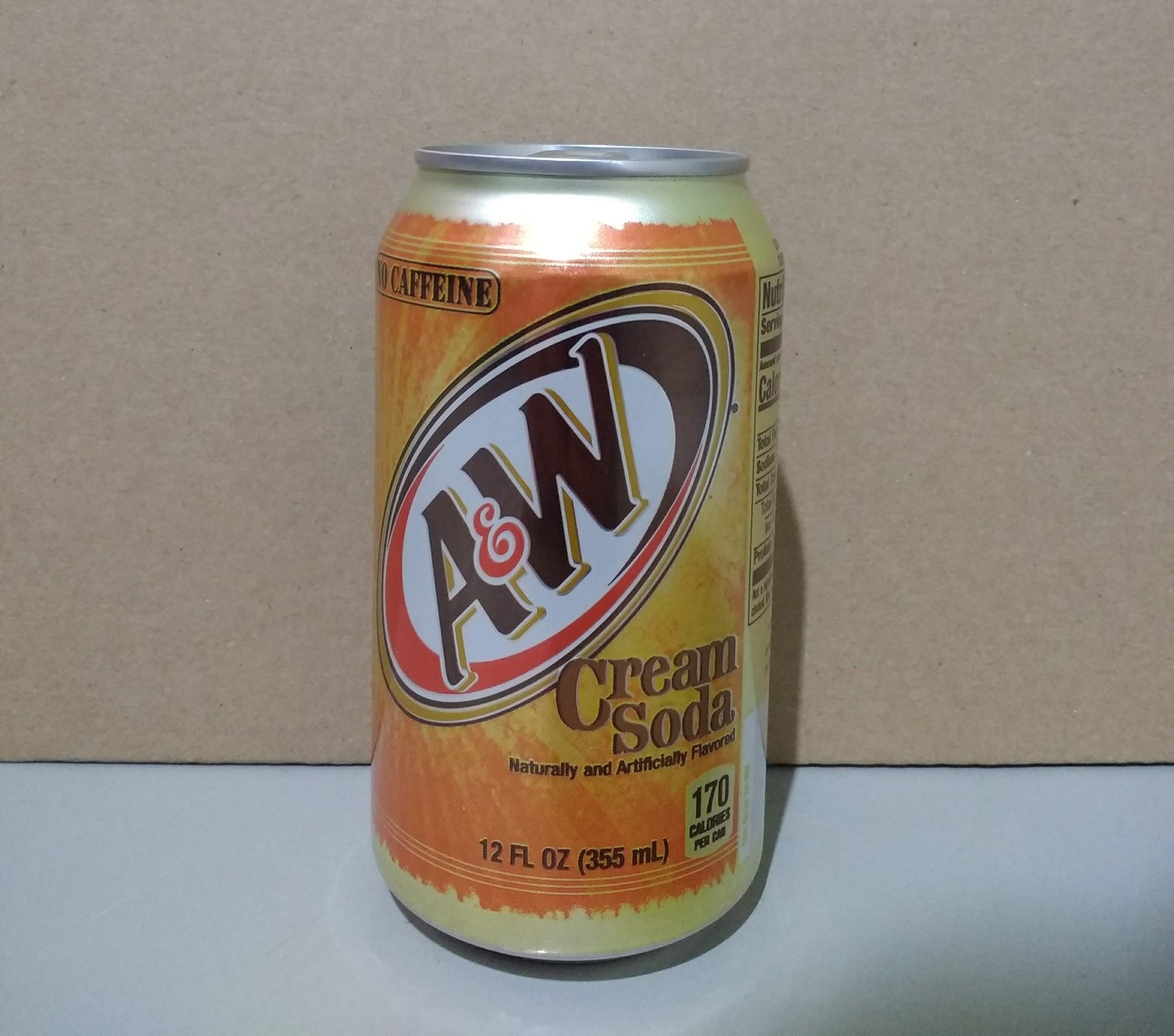 A&W Cream Soda 355ml