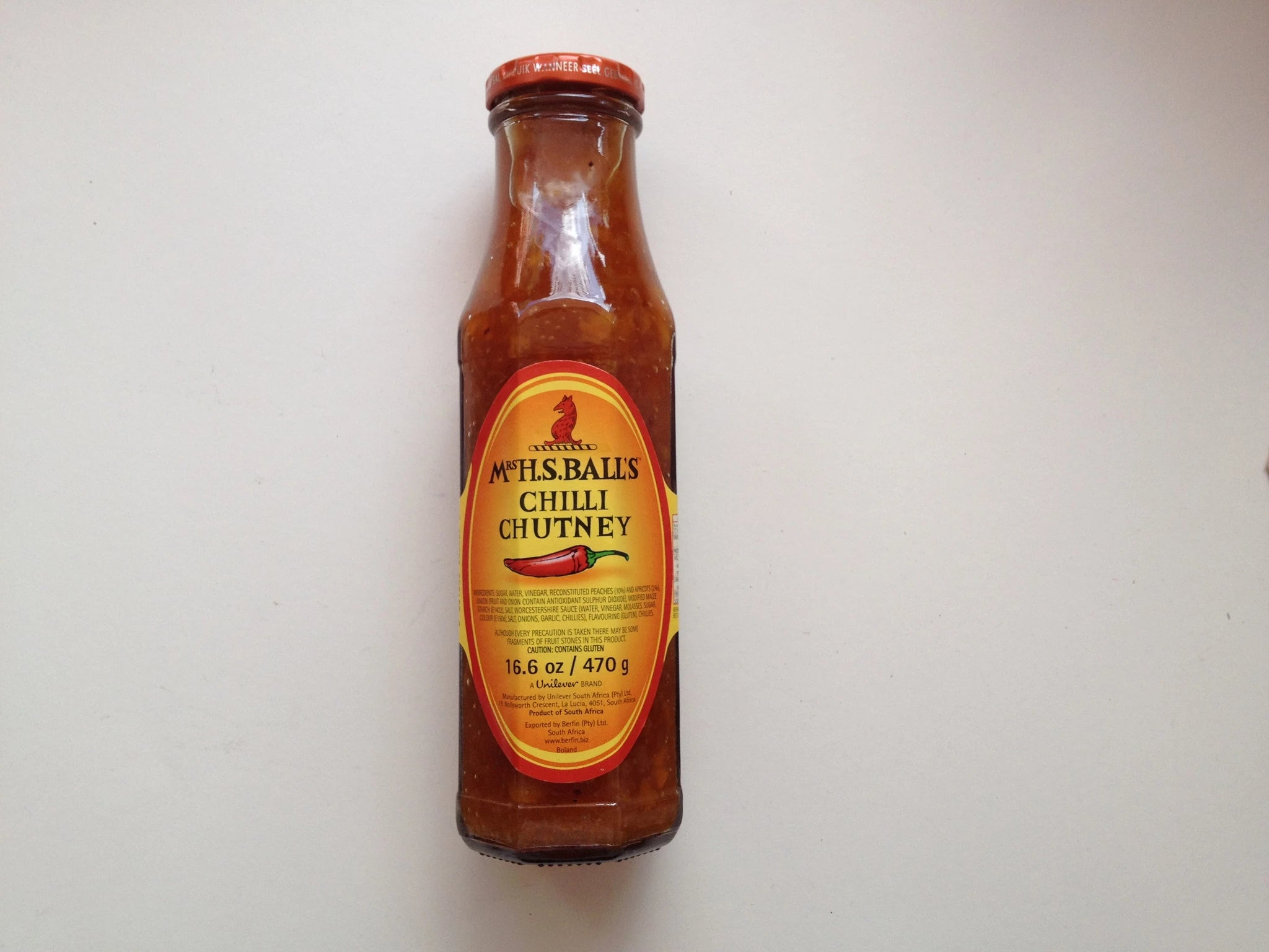 Mrs H.S. Ball's Chilli Chutney
