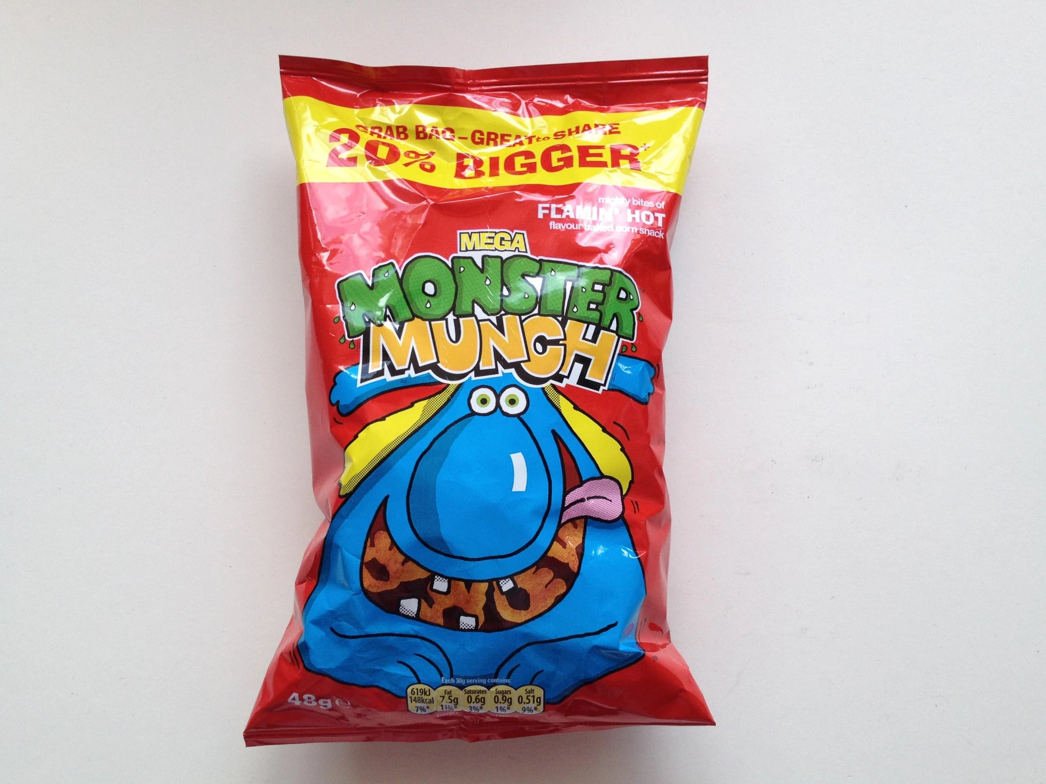 Monster Munch Flamin Hot 68g