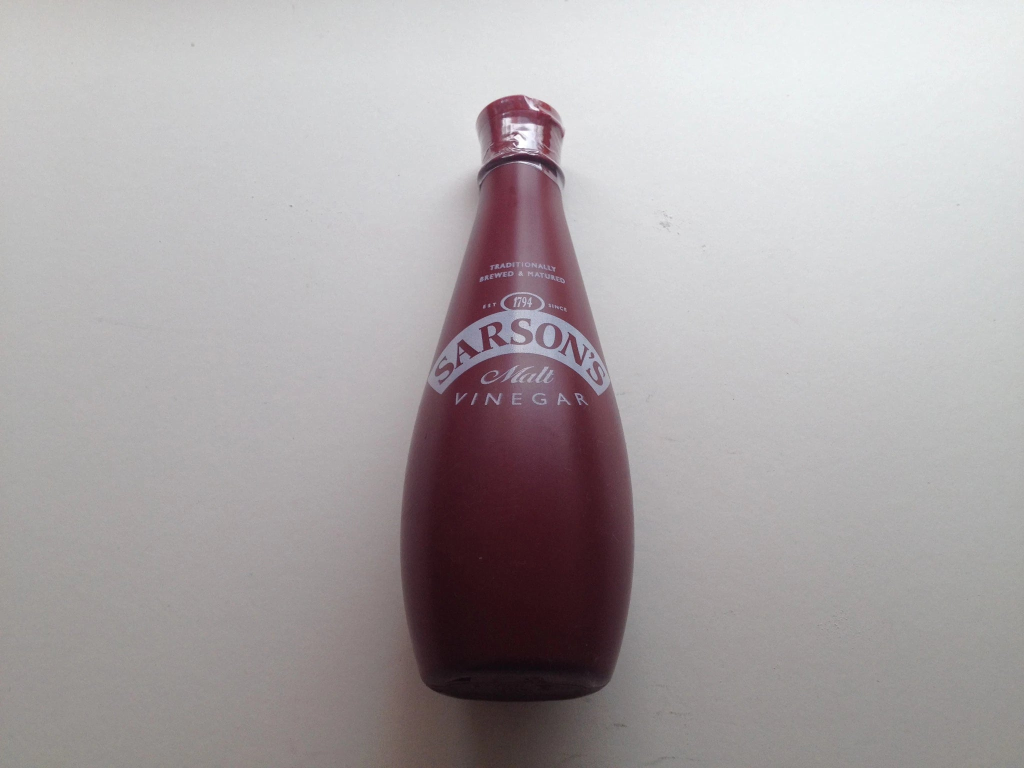 Sarson's Malt Vinegar Plastic bottle 300ML