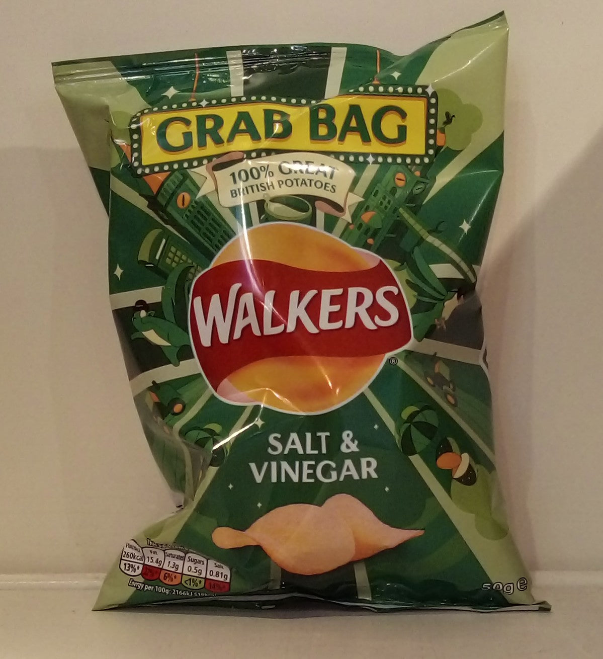 Walkers Salt & Vinegar 50g
