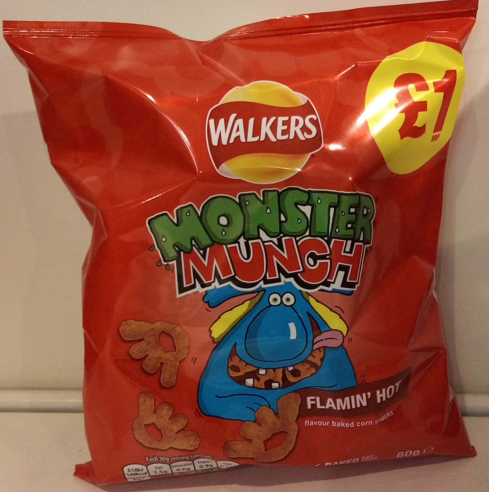 Monster Munch Flamin' hot 60g